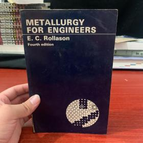 metallurgy for engineers(冶金工程师)