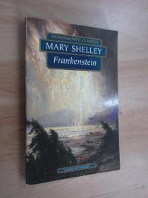 英文書  MARY SHELLEY  FRANRENSTEIN  共173頁