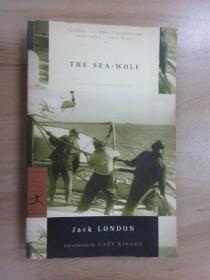 英文書  The  sea woif  Jack LONDON  共294頁
