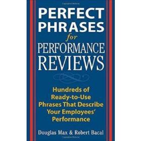 完美业绩评估关键词 Perfect Phrases for Performance Review