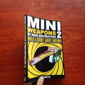 Mini Weapons of Mass Destruction 2::Build a Secret Agent Arsenal