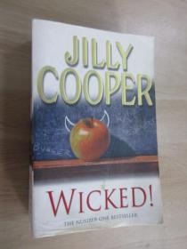 英文書  JILLY  COOPER   WICKED  共1006頁