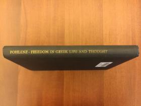 Freedom in Greek Life and Thought: The History of an Ideal(精装,馆藏书)(实拍书影,国内现货)