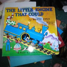 The Little Engine That Could Board Book勇敢的小火车头 英文原版