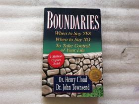Boundaries:When to Say Yes, How to Say No to Take Control of Your Life【首頁有寫字】英文版