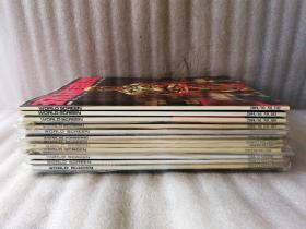 環球銀幕畫庫刊2004年第1-12期【第.12期沒有副刊 和海報】11本帶副刊和海報