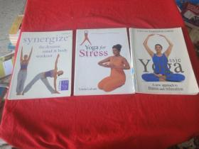 synergize 、A three-part foundation course 、Yoga for Stress(3本合售)