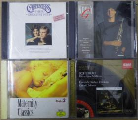 MATERNITY CLASSICS SCHUBERT KENNY G CARPENTERS  银圈版  首版 旧版 港版 原版 绝版 CD