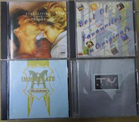 BEST OF FAVOURITES IN ORIGINALS EVERLASTING LOVE THEMES MADONNA TV MAGIC 首版 旧版 港版 原版 绝版 CD