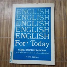 ENGLISH FOR TODAY BOOK 6【今日中国 第六册】