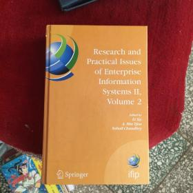 RESEARCH AND PRACTICAI ISSUES OF ENTERPRISE INFORMATION SYSTEMS(货号:厨房3架3层)