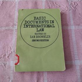 大陆英文内部交流版:BASIC DOCUMENTS IN INTERNATIONAL LAW(SECOND EDITION)《国际法基本文件集》