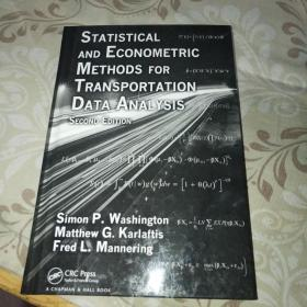 Statistical and Econometric Methods for Transportation Data Analysis【外文原版 精装16开】