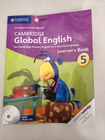 CAMBRIDGE Global English: Learner's Book 5(含CD2张)平装没勾画