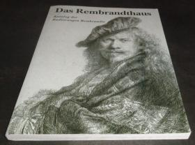 2手德文 The Rembrandt House: A Catalogue Etchings 伦勃朗版画 sfc20