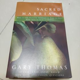 Sacred Marriage:What If God Designed Marriage to Make Us Holy More Than to Make Us Happy