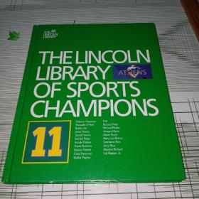 VOLUME 1 1 OF 1 4 VOLUMES  THELINCOLN  LIBRARY    OF SPORTS  CHAMPIONS 原版精装