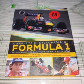 COMPLETE ENCYCLOPEDIA OF  FORMULA 1  INCLUDES A DVD - FLASHBACK : THE GOLDEN AGE OF MOTOR RACING 一级方程式百科全书(英文版 DVD+书)