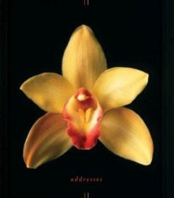 Orchids Address Book-兰花通讯录