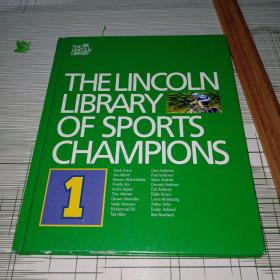 VOLUME 1  OF 1 4 VOLUMES THELINCOLN LIBRARY OF SPORTS CHAMPIONS 原版精装