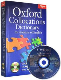 牛津英语搭配英英词典字典 Oxford Collocations Dictionary of English 英文原版