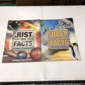 Just the Facts Solar System、 Just the Facts world Atlas【2本合售】