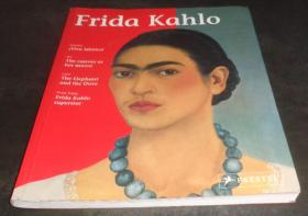 2手英文 Frida Kahlo: Living Art 弗里达·卡罗 scd81