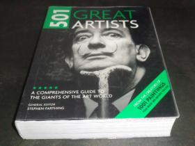 2手英文 501 Great Artists : A Comprehensive Guide to the Giants of the Art World scd84