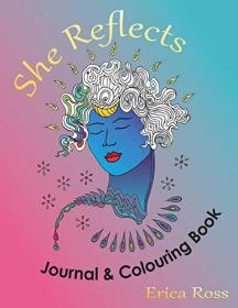 She Reflects Journal & Colouring Book