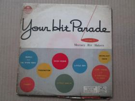 The Mercury Hit Makers ‎– Your Hit Parade Vol. 1 爵士乐团 10寸 黑胶LP唱片