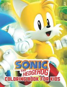 Sonic The Hedgehog Coloring Book For Kids