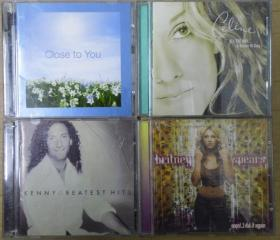 CLOSE TO YOU KENNY G CELINE DION BRITNEY SPEARS  首版 旧版 港版 原版 绝版 CD
