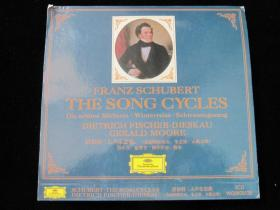 FRANZ SCHUBERT THE SONG CYCLES 3CD