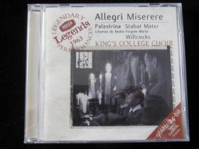Allegri Miserere CD