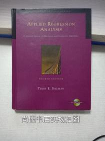 Applied Regression Analysis:A Second Course in Business and Economic Statistics (with CD-ROM and InfoTrac) (Applied Regression Analysis: A Second Course in Business & Economic)