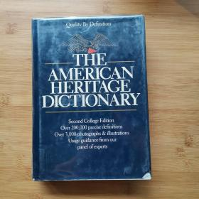 THE AMERICAN  HERITACE  DICTIONARY