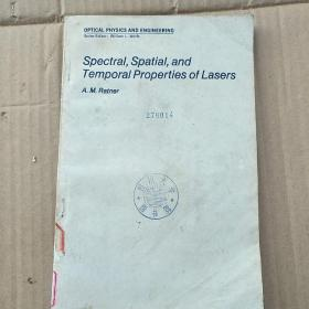 spectral spatial and temporal properties of lasers(P3538)