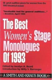 The Best Women's Stage Monologues Of 1993-1993年最佳女性舞台独白