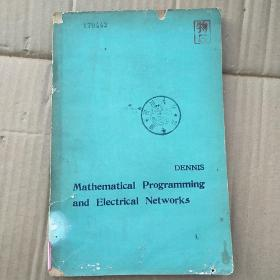 mathematical programming and electrical networks(P3552)