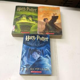 Harry Potter and the Half-Blood Prince5、6、7【3本合售】