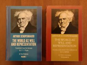 The World as Will and Representation, Vol. 1 & 2 (全套两册)