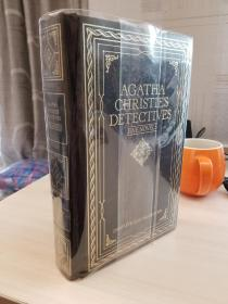 Agatha Christie Detectives Five Novels. 阿加莎克里斯蒂小说5篇,1982年出版,真皮
