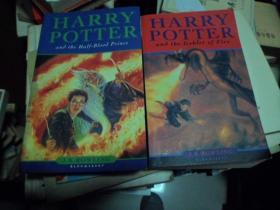 HARRY,POTTER-and,the,goblet,of,fire+HARRY POTTER and tbe Half-Blood Prince(英文原版,两本合售)K