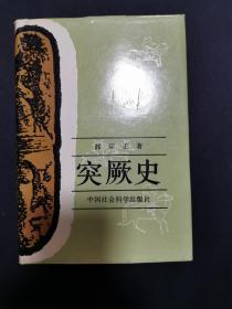 突厥史(精裝厚冊,私藏品好)