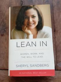 Lean In:Women, Work, and the Will to Lead(小16开,精装)
