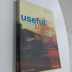 原版:Useful - Utiles. Jacques Ferrier architect: The Poetry of Useful Things by Alexander Tzonis and Jacques Ferrier