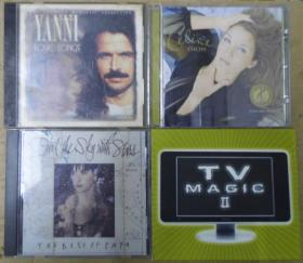 TV MAGIC II YANNI  ENYA CELINE DION   首版 旧版 港版 原版 绝版 CD