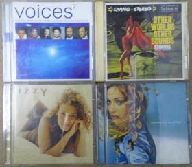 OTHER WORLDS OTHES SOUNDS IZZY MADONNA VOICES 2    首版 旧版 港版 原版 绝版 CD