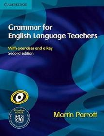 英语老师的语法书 英文原版 Grammar for English Language Teachers Martin Parrott Cambridge University