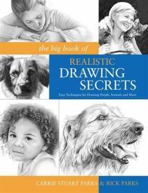 The Big Book of Realistic Drawing Secrets: 绘画人动物等技巧